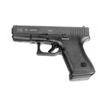 Pearce Grip Grip Enhancer, Fits New Style Glock Mags, Black PGFML, UPC :605849200194