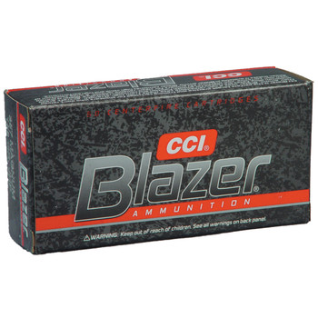 CCI/Speer Blazer, 357MAG, 158 Grain, Jacketed Hollow Point, 50 Round Box 3542, UPC : 076683035424