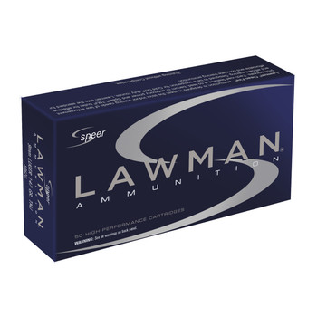CCI/Speer Speer Lawman, 9MM, 147 Grain, Total Metal Jacket, 50 Round Box 53620, UPC : 076683536204
