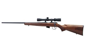 "CZ 452 American, Bolt Action, 22LR, 22.5"" Hammer Forged, Blued Finish, Wood Stock, 5rd, Left Hand Model 02017, UPC :806703020174"