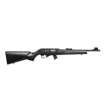 "CZ 512 Carbine, Semi-automatic, 22LR, 20.5"" Threaded Cold Hammer Forged Barrel, 1/2x28TPI, Black Finish, Black Beechwood Stock, 5 Rounds 02260, UPC :806703022604"
