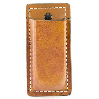 Desantis Secure Single Magazine Pouch, Fits  Glock 17/19/22/23/36, Ambidextrous, Tan Leather A47TJJJZ0, UPC :792695233824