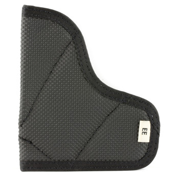 Desantis Mag-Packer Magazine Pouch, Fits Single Stack 9MM/40, Ambidextrous, Black Leather M38BJEEZ0, UPC :792695264514