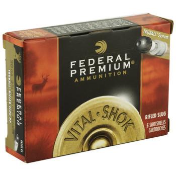 "Federal Premium, 20 Gauge, 2.75"", TruBall, 5 Round Box PB203RS, UPC : 029465025274"