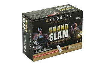 "Federal Grand Slam, 12 Gauge, 3.5"", #5, 2oz, Flight Contro1, 10 Round Box PFCX139F 5, UPC :604544631784"
