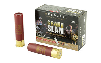 "Federal Grand Slam, 12 Gauge, 3.5"", #5, 2oz, Flight Contro1, 10 Round Box PFCX139F 5, UPC :604544631784"
