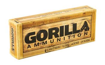 Gorilla Ammunition Company LLC 300 AAC Blackout, 208 Grain, AMAX, Subsonic, 20 Round Box GA300208AMAXSUB, UPC :858934003174