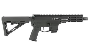 """Angstadt Arms UDP-9, Semi-automatic Rifle, 9MM, 6"""" Chrome Moly Barrel, 1:10 Twist, Aluminum Frame, Matte Black Finish, Magpul MOE Stock and K2 Pistol Grip, Angstadt Arms 5.5"""" Free Float M-LOK Handguard, 1-10Rd Magazine Included AAUDP09C06, UPC :86711"""