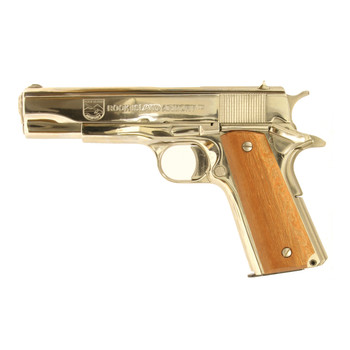 "Armscor Rock Island 1911, Full Size Pistol, 45 ACP, 5"" Barrel, Steel Frame, Blue Finish, Synthetic Grips, Fixed Sights, 1 Magazine, 10 Rounds 51453, UPC :4806015514534"