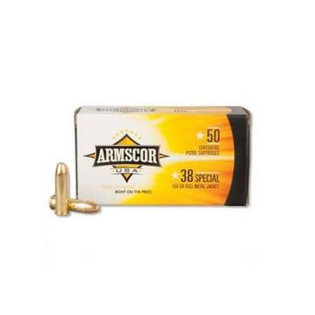 Armscor 380ACP, 158 Grain, Full Metal Jacket, 50 Round Box FAC38-17N, UPC :812285020044