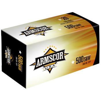 Armscor 500 S&W, 300 Grain, XTP, 20 Round Box FAC500SW-1N, UPC :812285022024