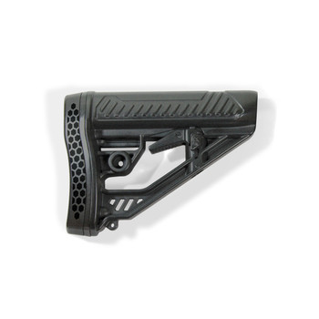 Adaptive Tactical EX Performance Stock, Fits AR Rifles, Black Finish AT-02012, UPC :682146910834