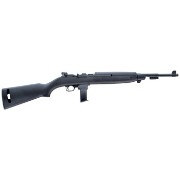 """Chiappa Firearms M1-9, Semi-automatic Rifle, 19"""" Barrel, Blue Finish, Wood Stock, 2 Magazines, 10Rd, Fully Adjustable Rear Sight, Dovetail Rail for Scope Mount 500.137, UPC :8053670713864"""