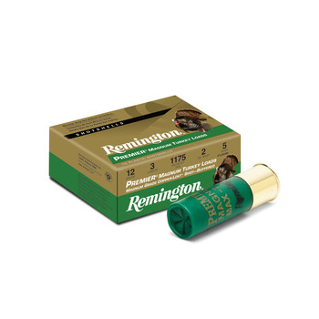 "Remington Premier Magnum High Velocity, 12 Gauge, 3"", Max Drams, 2 oz, #5, 10 Round Box 26837, UPC : 047700304304"