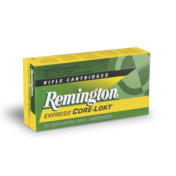 Remington Core Lokt, 223REM, 55 Grain, Pointed Soft Point, 20 Round Box 28399, UPC : 047700050904