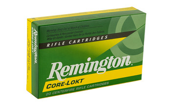 Remington Core Lokt, 280 140 Grain, Pointed Soft Point, 20 Round Box 28313, UPC : 047700066004