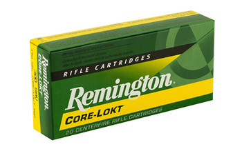 Remington Core Lokt, 300 Savage, 150 Grain, Pointed Soft Point, 20 Round Box 21465, UPC : 047700055404