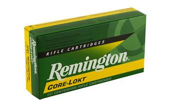 Remington Core Lokt, 6MM REM, 100 Grain, Pointed Soft Point, 20 Round Box 29051, UPC : 047700051604