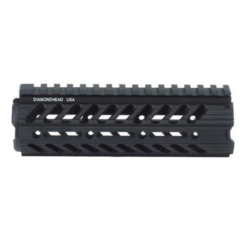 "Diamondhead USA, Inc. VRS-DI Modular Drop-In Handguard Rail, AR-15, 7"", Black 2001, UPC :857880003214"