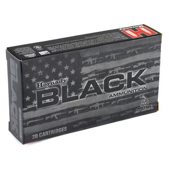 Hornady BLACK, 762x39, 123 Grain, SST, Brass Case, 20 Round Box 80784, UPC : 090255807844