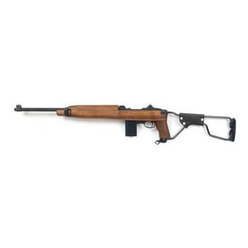 "Auto Ordnance M1 Carbine, Semi-automatic, 30 Carbine, 18"", Parkerized, Wlanut, Metal Folding Stock, Right Hand, 15Rd, Paratrooper Model, Adjustable Sights AOM150, UPC :602686313094"