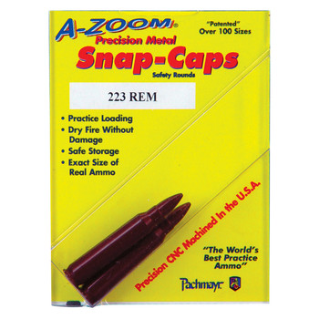 A-Zoom Snap Caps, 223 Rem, 2 Pack 12222, UPC :666692122224