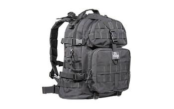 "Maxpedition Condor II Backpack, 17.5""X14""X6.5"", Black 0512B, UPC :846909001584"
