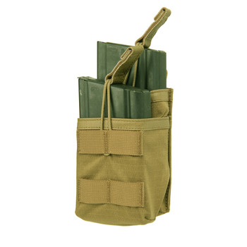 BLACKHAWK! Tier Stacked Magazine Pouch, For 20Rd M14, OD Green 37CL119OD, UPC :648018180484