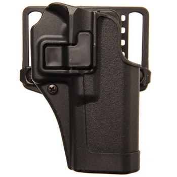 BLACKHAWK! CQC SERPA Holster With Belt and Paddle Attachment, Fits 5900/4000 series (Includes TSW 5900/4000 series, TSW) Right Hand, Black 410510BK-R, UPC :648018037634
