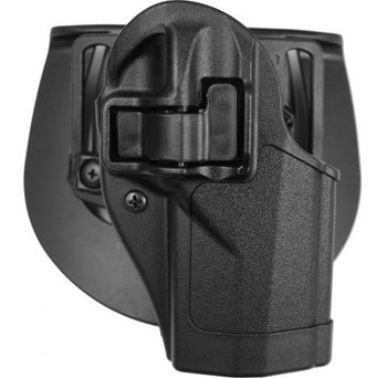 BLACKHAWK! CQC SERPA Holster With Belt and Paddle Attachment, Fits Beretta PX4, Right Hand, Black 410528BK-R, UPC :648018142574