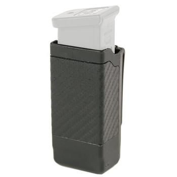 BLACKHAWK! CQC Magazine Case, Single, Double Row, Carbon Fiber, Black 410600CBK, UPC :648018005084