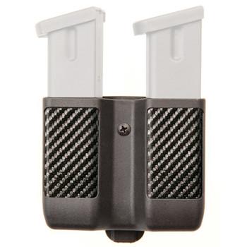 BLACKHAWK! CQC Magazine Case, Single, Double Row, Carbon Fiber, Black 410610CBK, UPC :648018127274