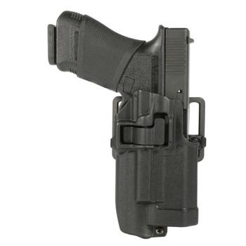 BLACKHAWK! SERPA CQC XIPHOS Belt Holster, Fits Colt Government, Right Hand, Black 414503BK-R, UPC :648018126734