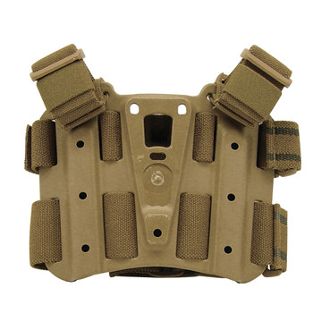 BLACKHAWK! Tactical Drop-Leg SERPA Holster Platform, Coyote Tan 432000PCT, UPC :648018014994