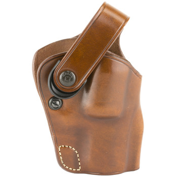 """Galco Outdoorsman Belt Holster, Fits Ruger Alaskan with 2.5"""" Barrel, Right Hand, Tan DAO186, UPC :601299177284"""
