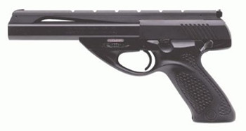 "Beretta NEOS U22, Single Action, Full Size, 22LR, 6"" Barrel, Polymer Frame, Blue Finish, Grey Rubber Inlay, Adjustable Sights, 10Rd, 2 Magazines JU2S60B, UPC : 082442807584"