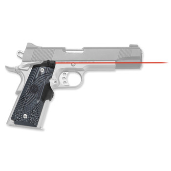Crimson Trace Corporation Master Series Laser Grip, Fits 1911 Government/Commander G10 Tactical, Micro-Compact Diode, Fits Ambi-Safety Models, Front Activation LG-904, UPC :610242001804