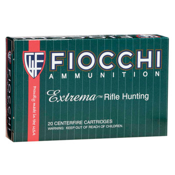 Fiocchi Ammunition Rifle, 30-06, 150 Grain, Full Metal Jacket Boat Tail, 20 Round Box 3006A, UPC :762344706184