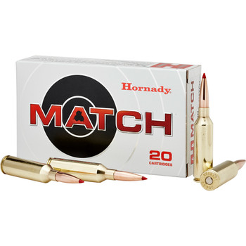 Hornady Match, 6mm PRC, 147 Grain, ELD Match, 20 Round Box 81620, UPC : 090255816204