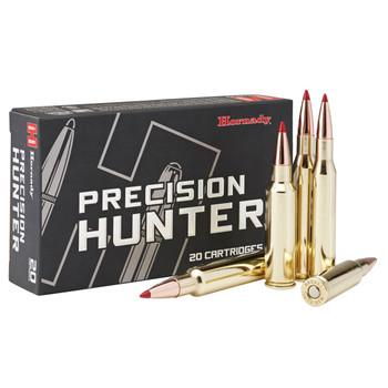Hornady Precision Hunter, 7MM-08 Rem, 150 Grain, ELD-X, 20 Round Box 85578, UPC : 090255855784
