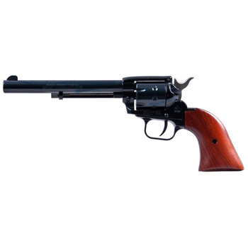 """Heritage Rough Rider, Single Action Army Revolver, 22LR/22WMR, 6.5"""" Barrel, Alloy Frame, Blue Finish, Cocobolo Grips, Fixed Sights, 9Rd 22999MB6, UPC :727962500514"""