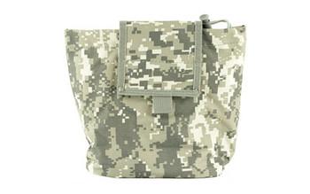 NCSTAR Folding Dump Pouch, Nylon, Digital Camo CVFDP2935D, UPC :814108017354