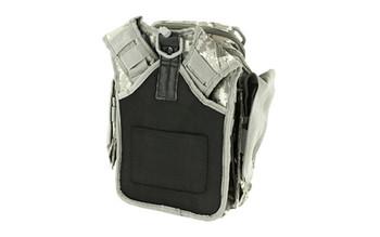 NCSTAR First Responder Utility Bag, Nylon, Gray Digital Camo, MOLLE / PALS Webbing, Rear Concealed Carry Pocket, Shoulder Strap CVFRB2918D, UPC :848754000354