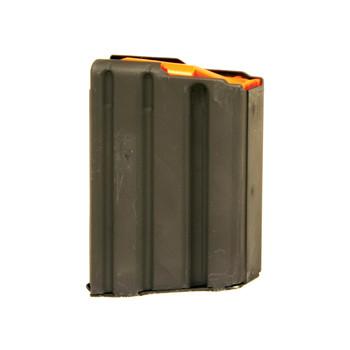 Ammunition Storage Components Magazine, 223 Rem, Fits AR-15, 10Rd, Stainless, Black 223-10RD-SS, UPC :818805011714
