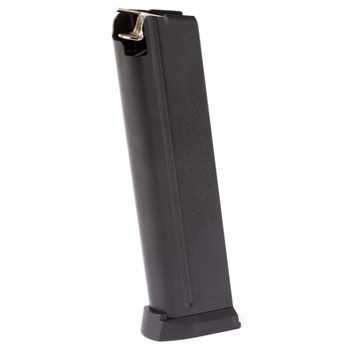 Springfield Magazine, 40 SW, 9Rd, Fits EMP Lightweight Champion, Blue Finish, with Slam Pad PI6068, UPC :706397901684