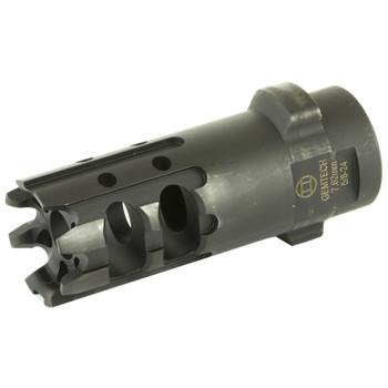 Gemtech Gemtech, QUICKMOUNT, Carbon Cutting Muzzle Brake, 7.62NATO, 5/8X24, Black Finish 12155, UPC :609224348044