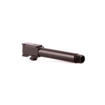 SilencerCo Threaded Barrel, 40 SW, For Glock 22, Black, 9/16x24 TPI AC50, UPC :817272018394
