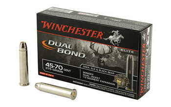 Winchester Ammunition Supreme Elite, 45-70 Government, 405 Grain, DB, 20 Round Box S4570DB, UPC : 020892218444