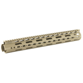 "Leapers, Inc. - UTG Handguard, Fits AR Rifles, 15"" Super Slim, Free Float, Flat Dark Earth Cerakote MTU019SSD, UPC :4712274529724"