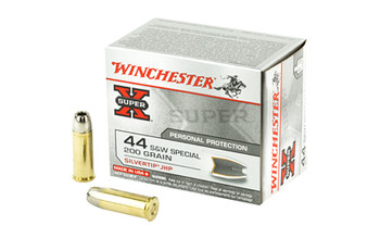 Winchester Ammunition Super-X, 44 Special, 210 Grain, Silvertip Hollow Point, 20 Round Box X44STHPS2, UPC : 020892201644